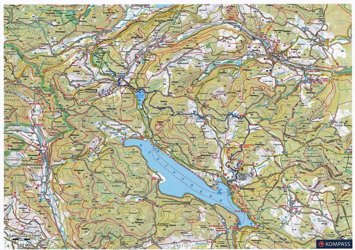 Mardi 11 juillet - Autour du Schluchsee