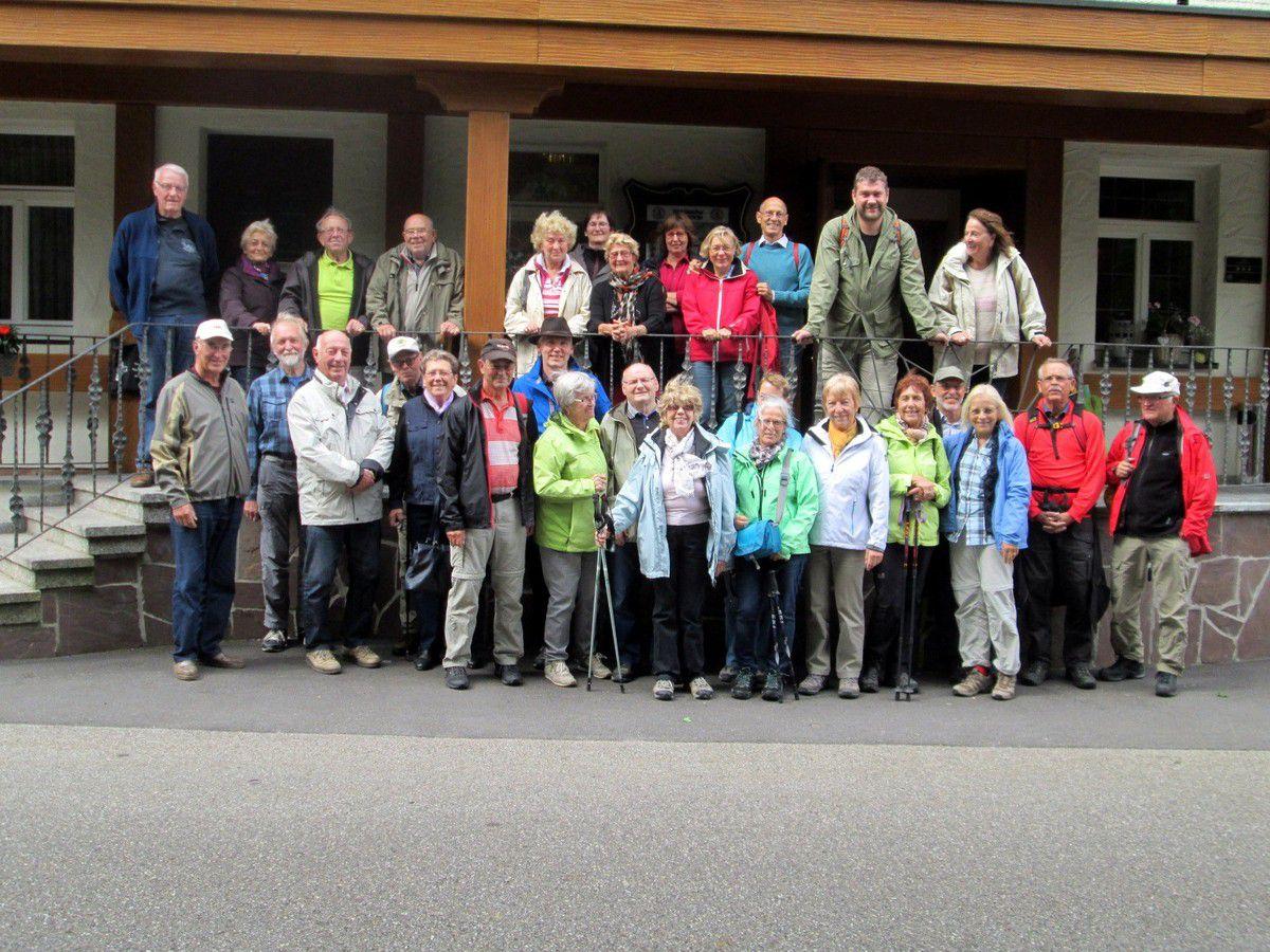 Samedi 9 septembre - 49ème Rencontre avec nos amis de l'Albverein de Bönnigheim