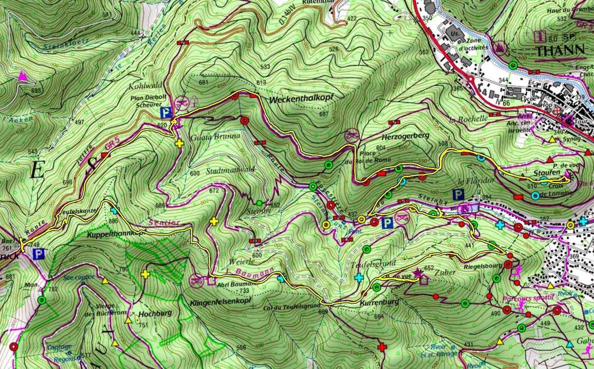 Mardi 31 octobre - Col du Hundsrück, sentier Baumann