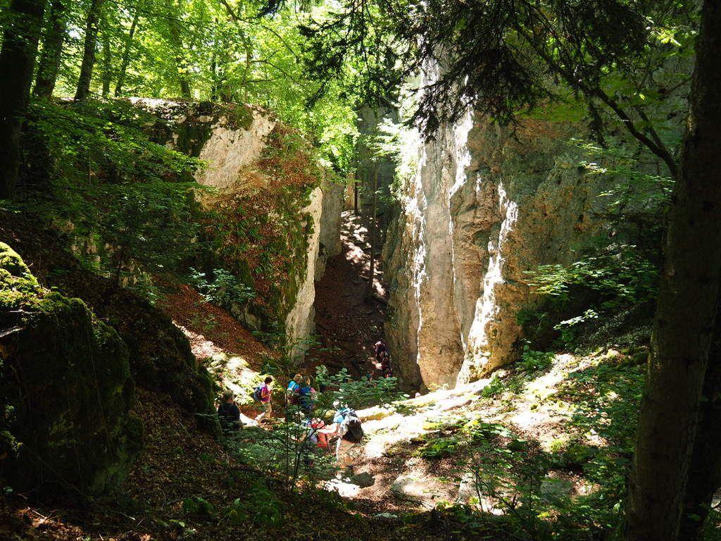 Les gorges de la Grotte des Nains