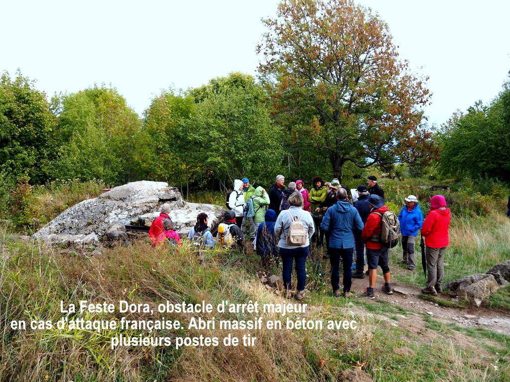 Sortie à thème du 2 octobre - Le Hartmannswillerkopf