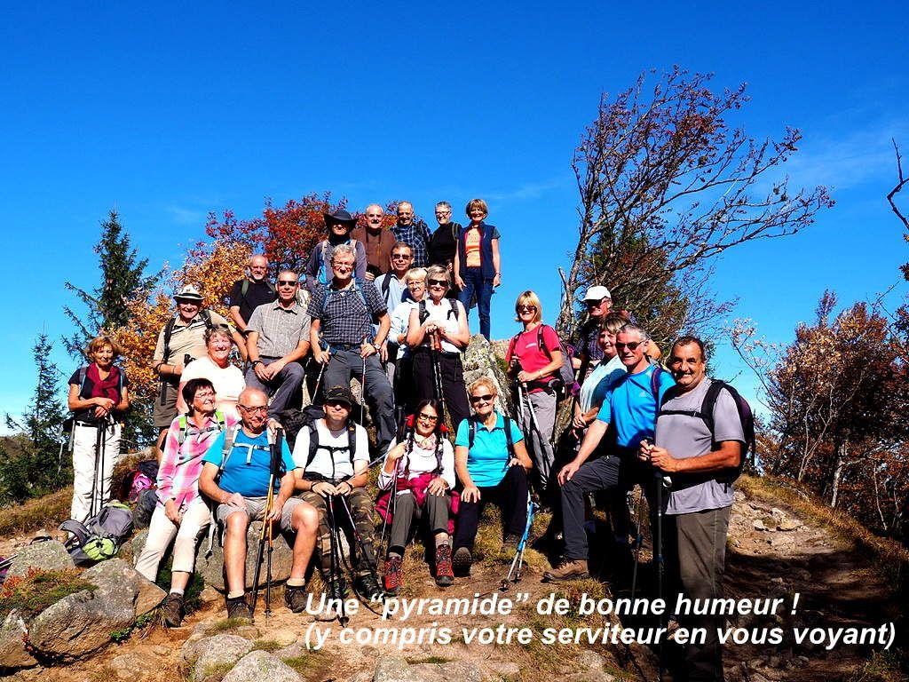 Rando du 9 octobre - Dans la réserve naturelle du Frankenthal-Missheimle