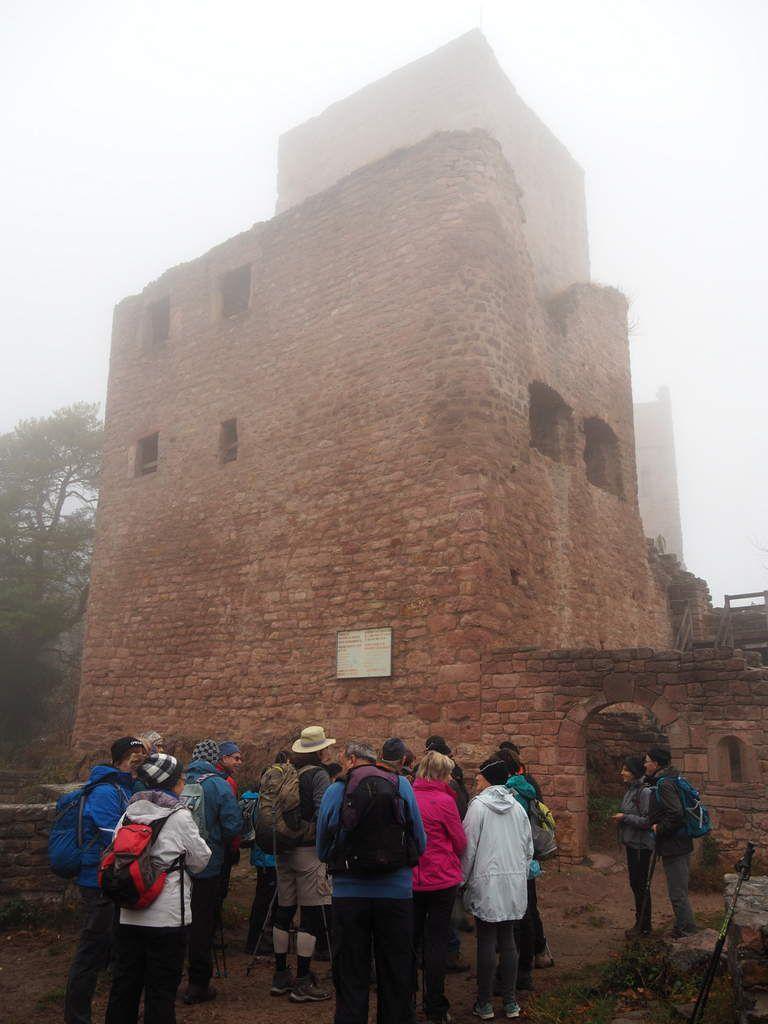 Rando du 27 novembre - Les 3 châteaux d'Eguisheim
