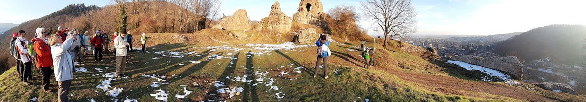 Rando du 5 février - Thann - Roche Albert - Engelbourg