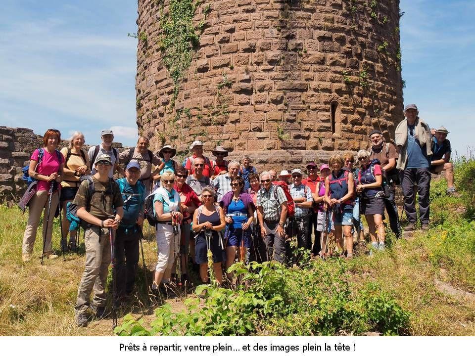 Randonnée du 09.07.2019 : Breitenau – Roche des Fées - Frankenbourg