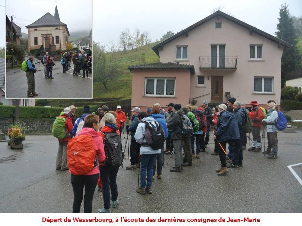 Sortie du 29.10.2019: Wasserbourg - Drei Schoepf - Auberge du Ried