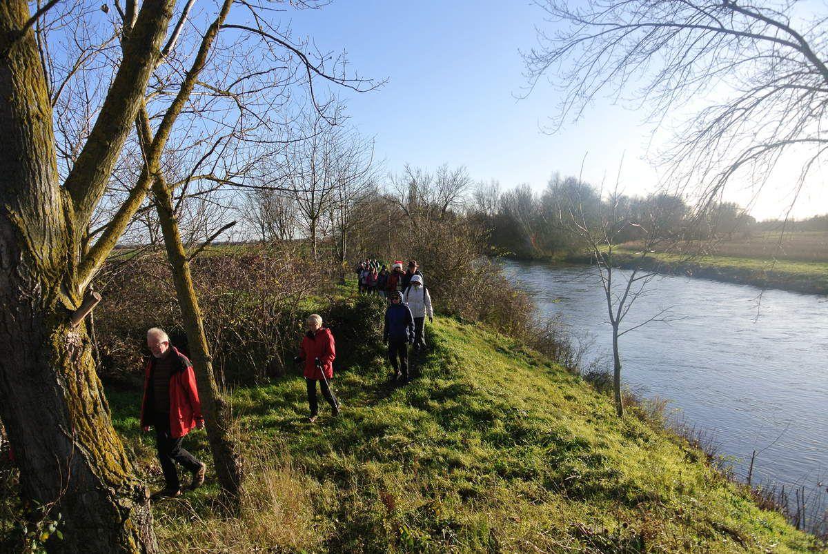 Sortie du 10 décembre: Parc de l'Eiblen, sentier de l'Ill, canal Vauban.