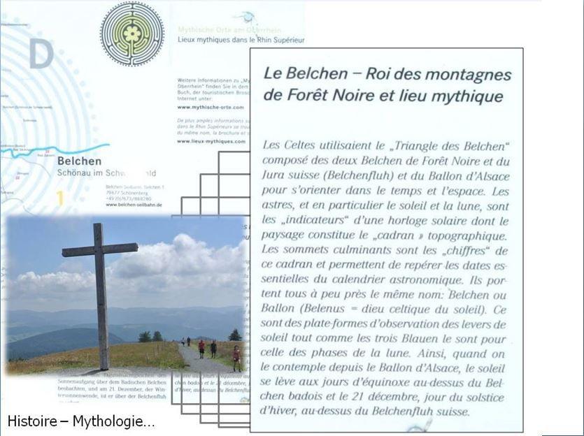 Au sommet du Belchen, un 360° époustouflant... on termine la journée les pieds dans l'eau !