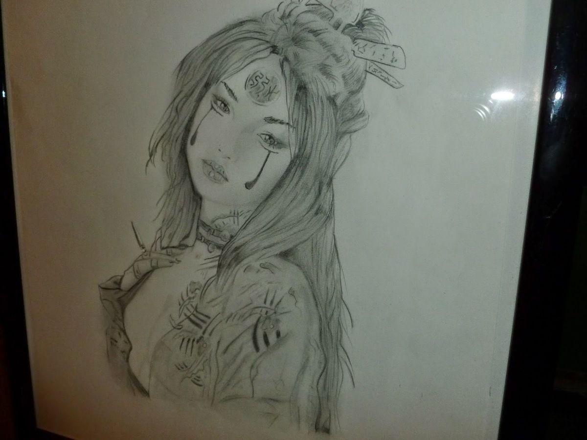 Geisha Fantasy Disegno Lavoretticreativi