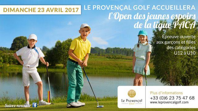 Open des jeunes espoirs de la Ligue PACA au Provençal Golf