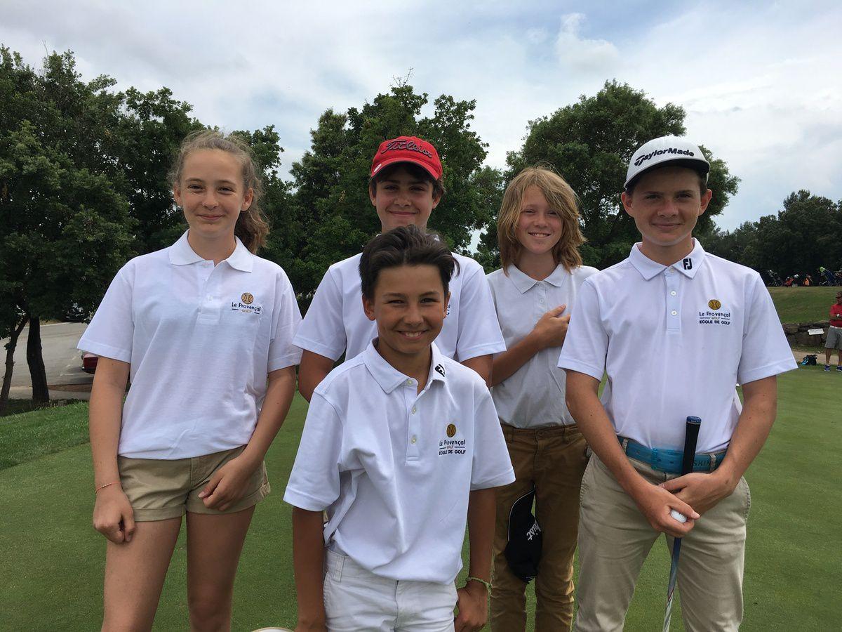 Championnat des écoles de golf 2017