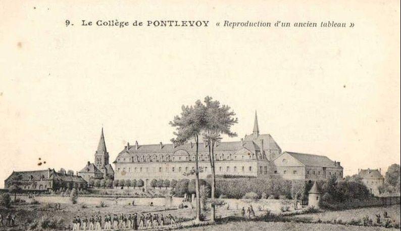 ÉCOLE ROYALE MILITAIRE DE PONTLEVOY (Loir-et-Cher)