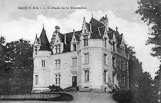 Château de la Gitonnière à Genillé (canton de Montrésor)