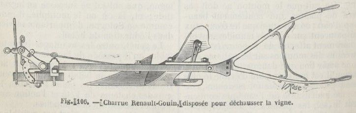 Journal d'agriculture pratique, 34e année, Tome II, Juillet-Décembre 1870 p. 1276-1277. Fig. 106-107-108