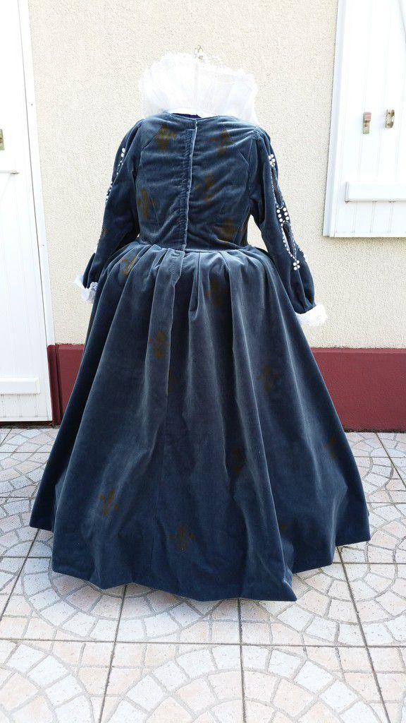 Costume Anne d'Autriche