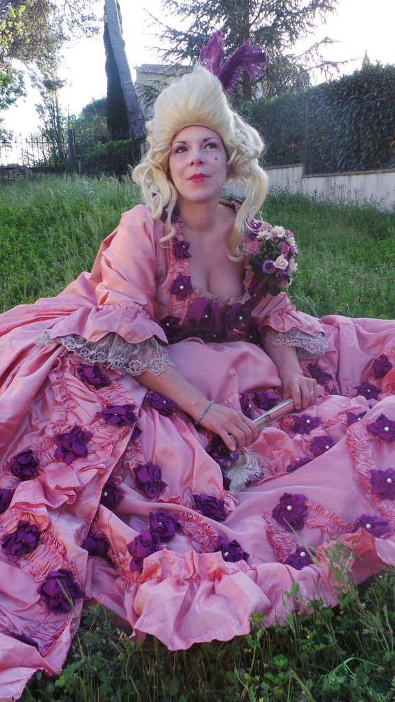 Photoshoot Robe Madame de Pompadour