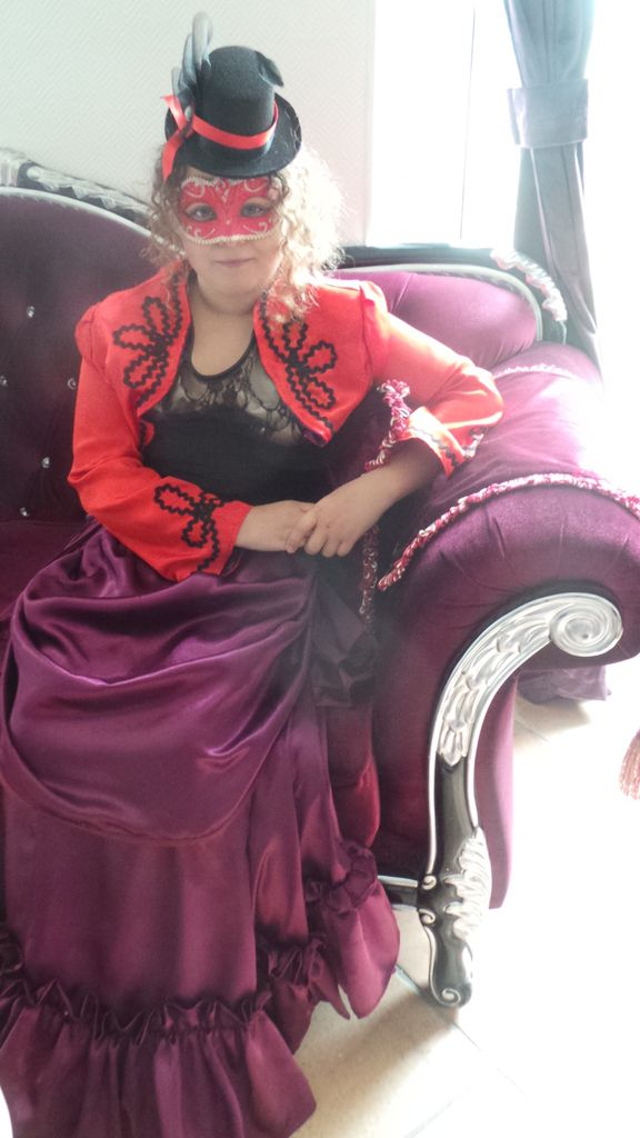 Photoshoot Robe Steampunk Enfant