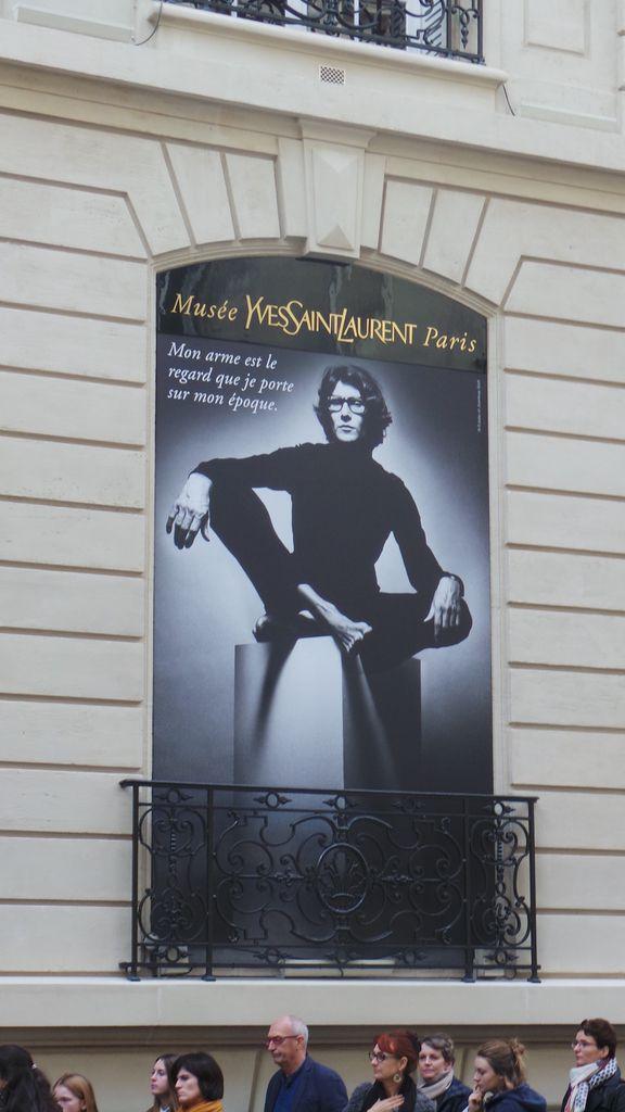 Musée Yves St Laurent Paris
