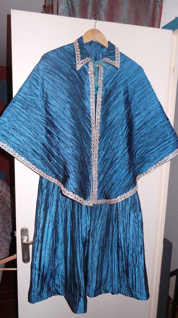 Tuto Robe de bal Bleue Enfant
