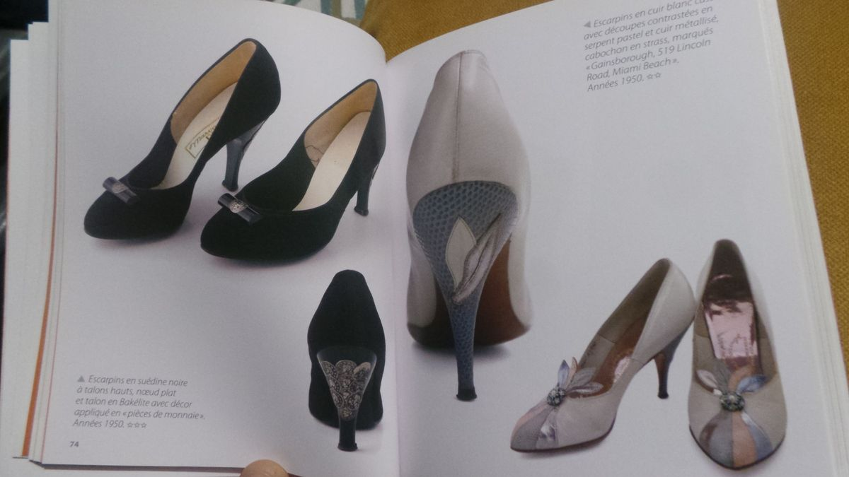 Quand Couture rime avec Chaussures...