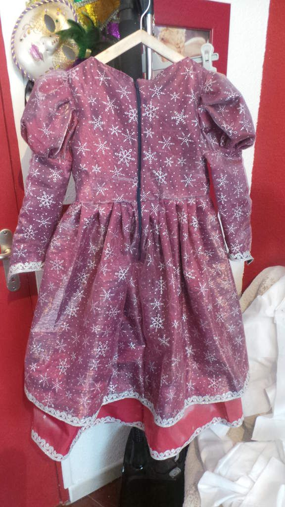 Robe de princesse enfant
