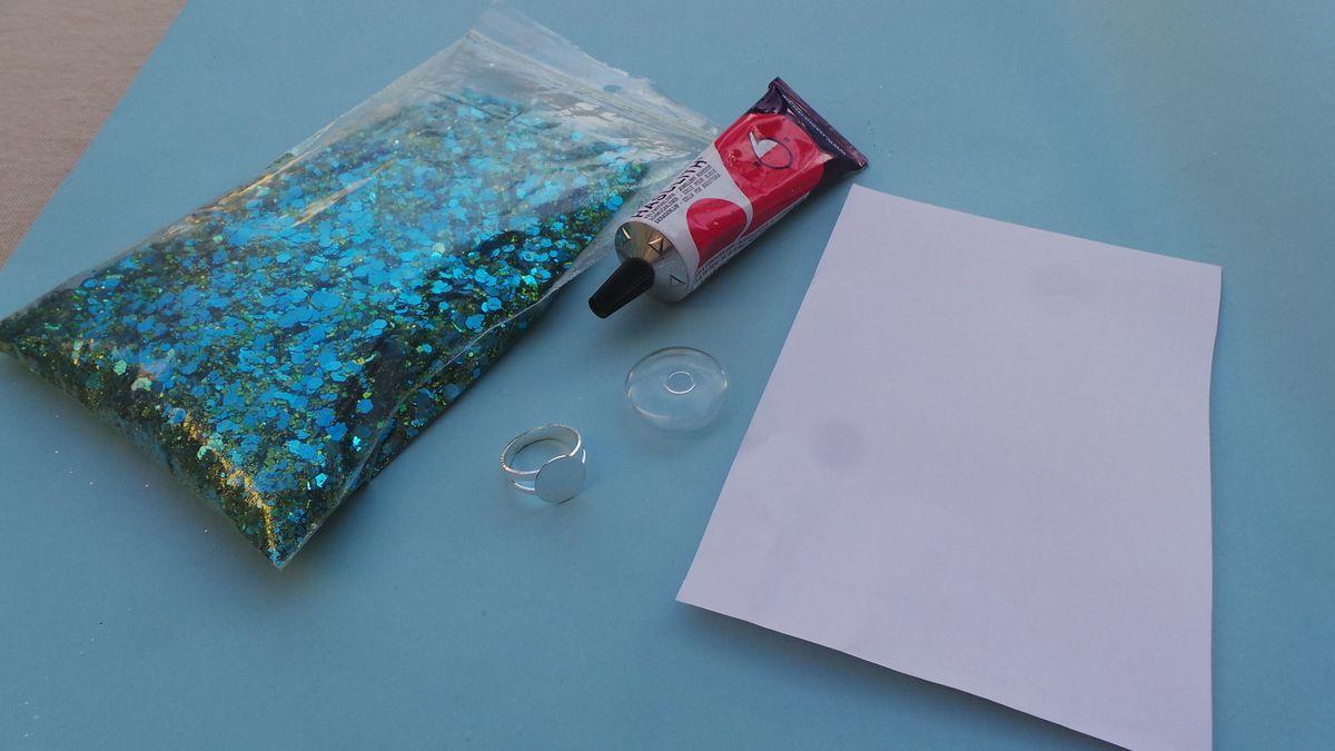 Fabriquer une bague bulle