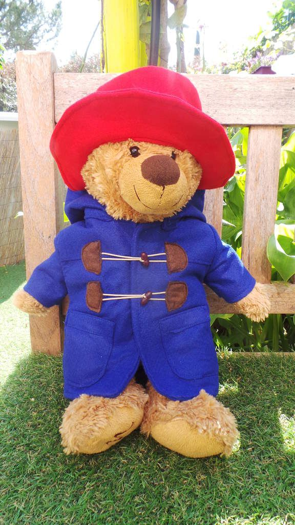 Costume Ours Paddington : Duffle Coat et Chapeau