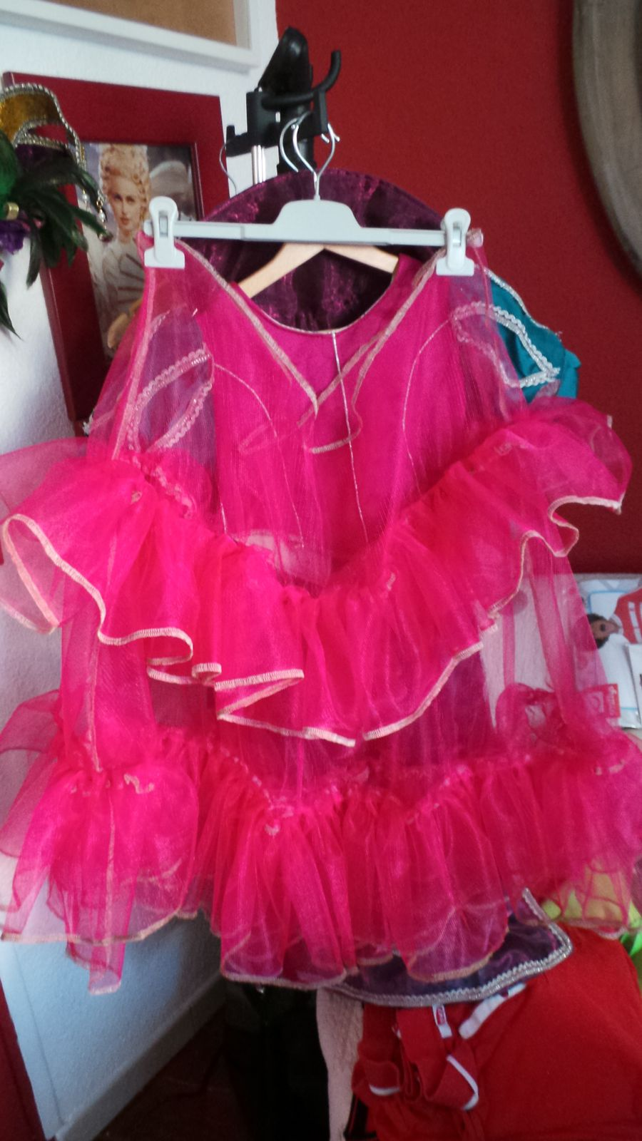 Robe Princesse Margot avec Cape