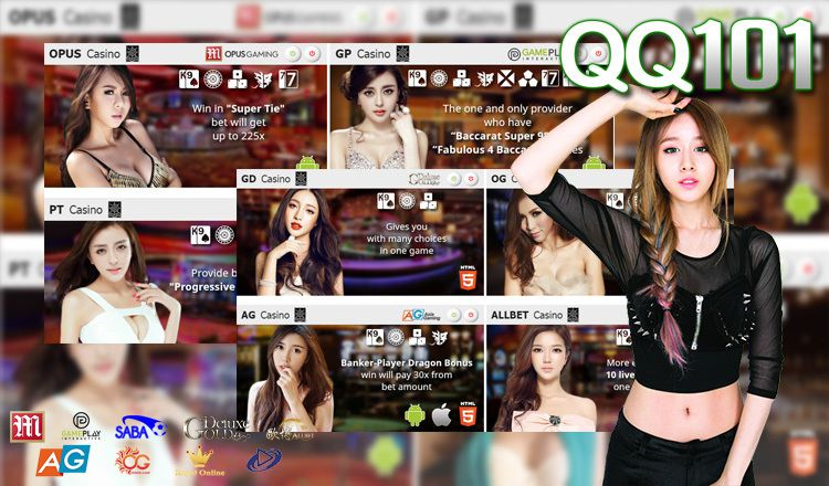 Onlinecasinoqq101 Live Casino Gambling Games And Best Free Bets Website