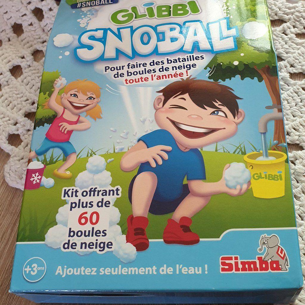 Les enfants ont testé le Glibbi Snowball
