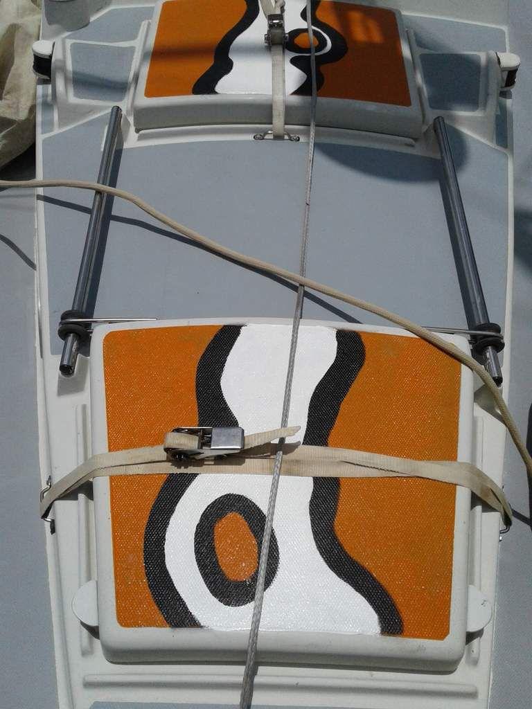 Les travaux sur Martin le bateau