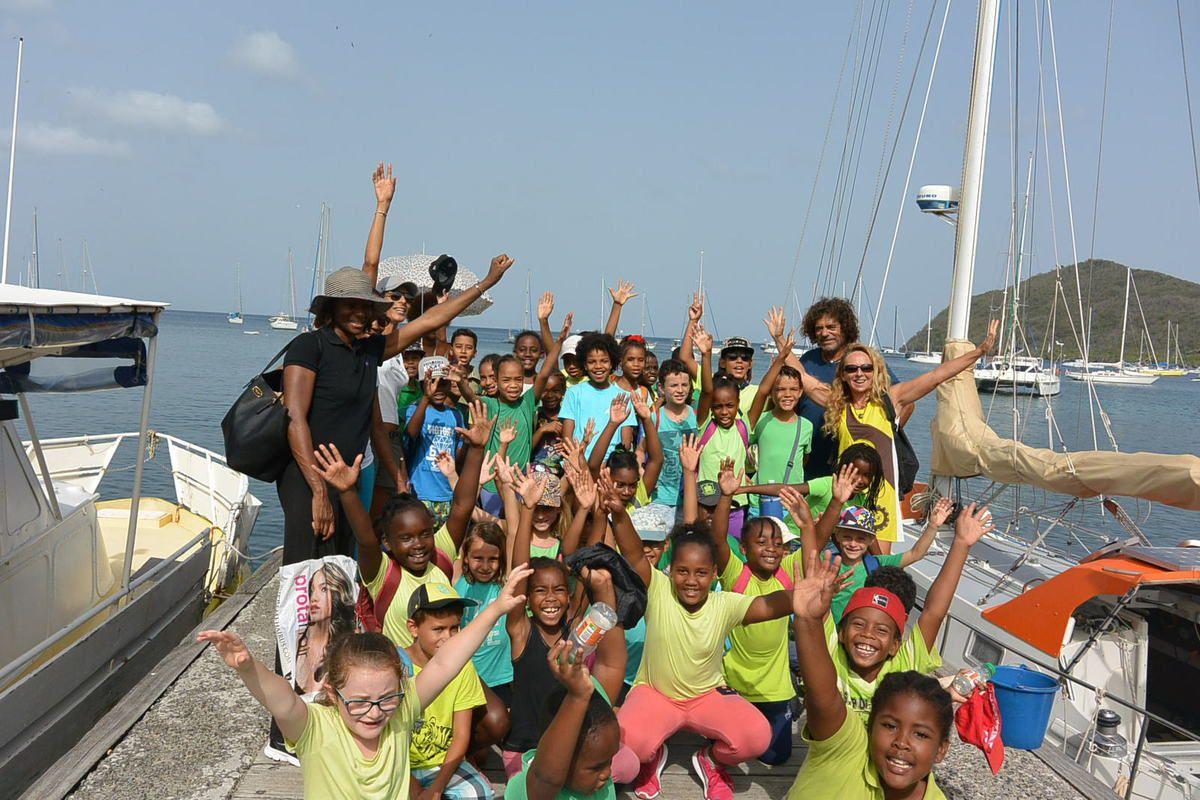 Rendez vous mardi au ponton du bourg des Anses d'Arlet !