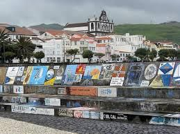 Faïal: le port de Horta et ses peintures