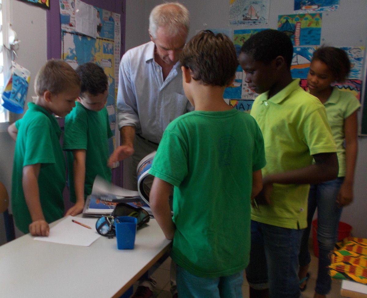 SNSM: la visite de Philippe Caroff à l'école!!