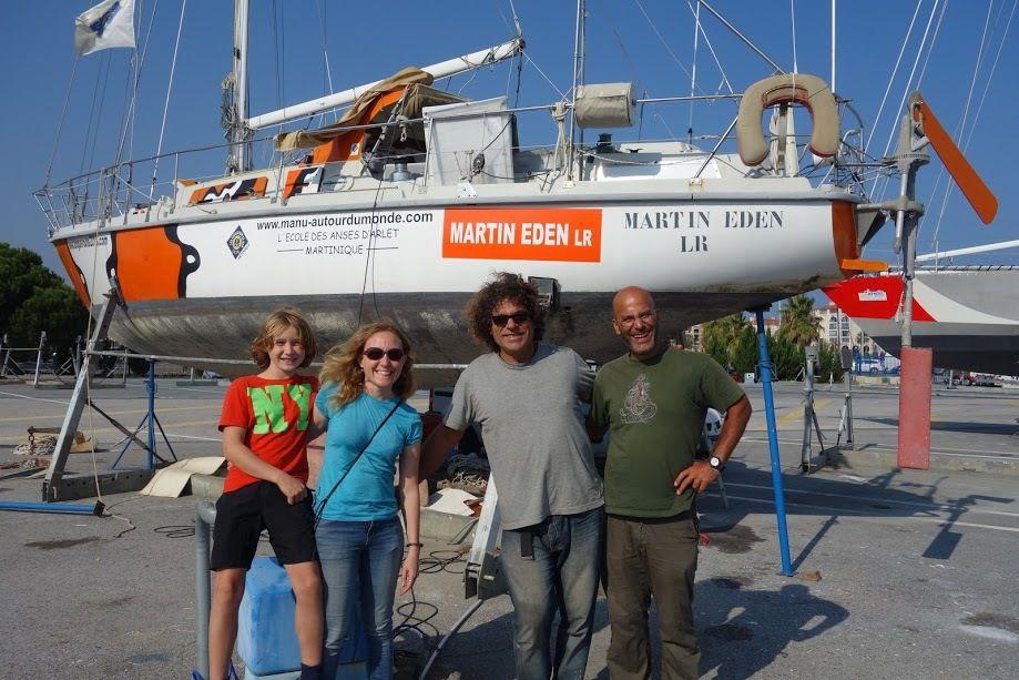 Alain, Marianne et Max, d'autres grands voyageurs autour du monde!
