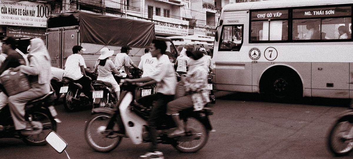Balade à Saïgon