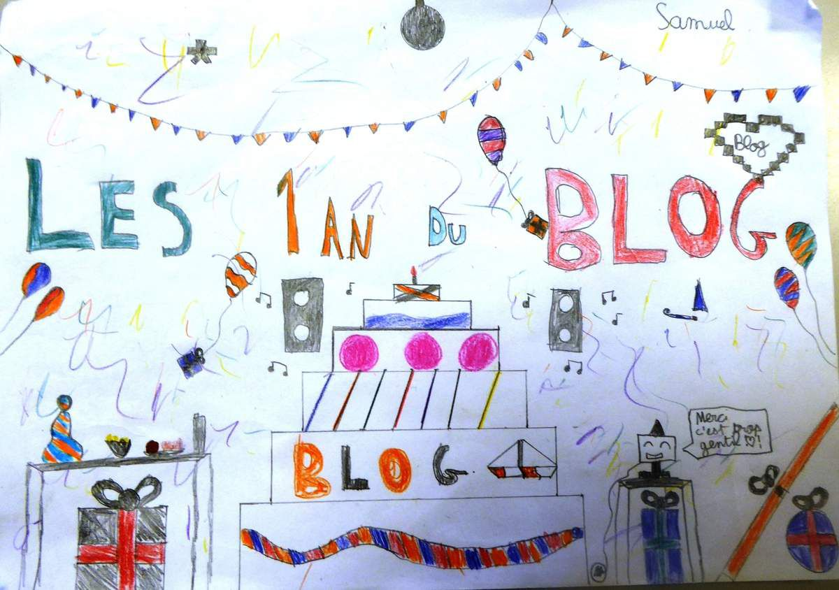 Le blog a un an!!!!!!!!