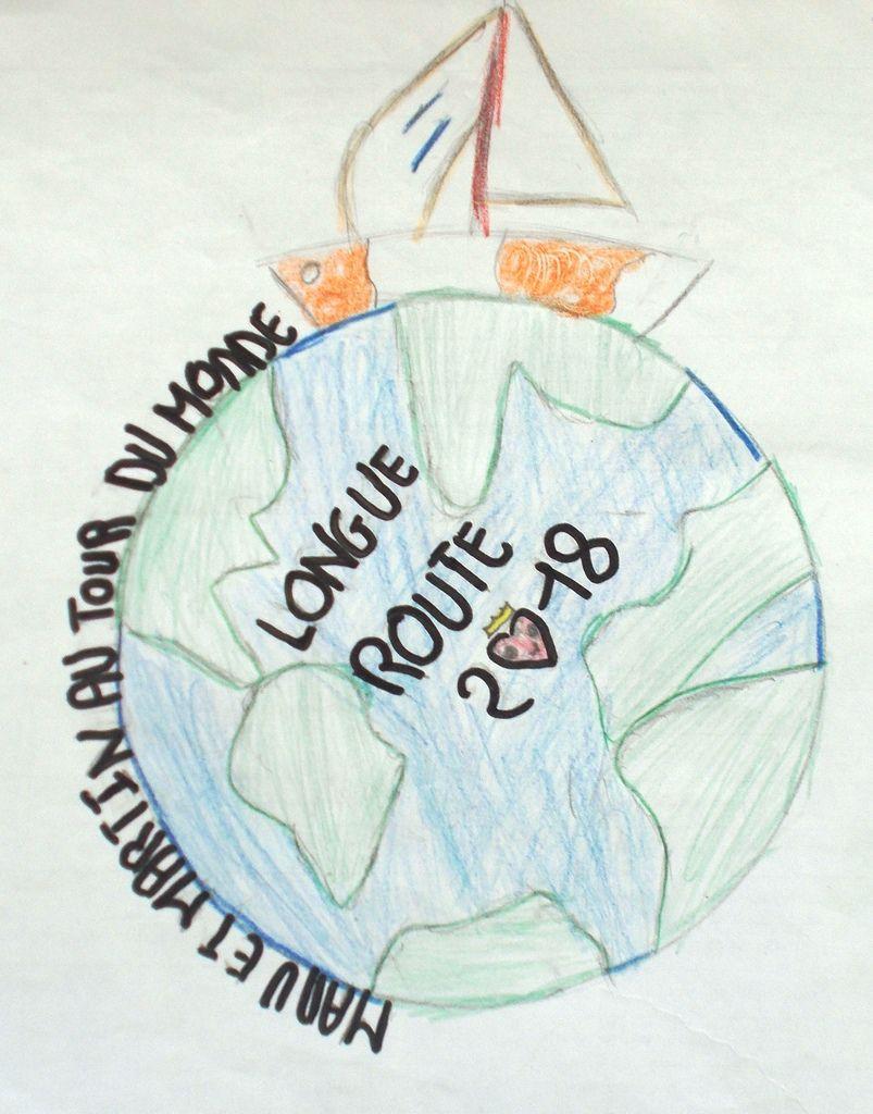 Grand concours de logo: Manu et Martin autour du monde