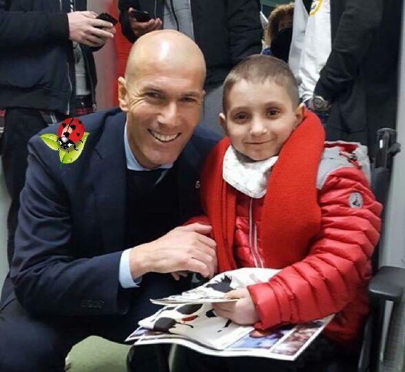 Thomas et  Zinedine Zidane