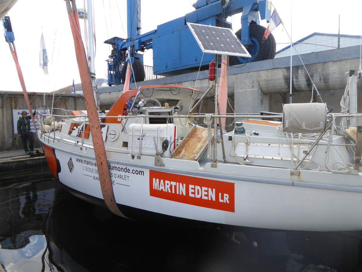 Martin retourne à l'eau !