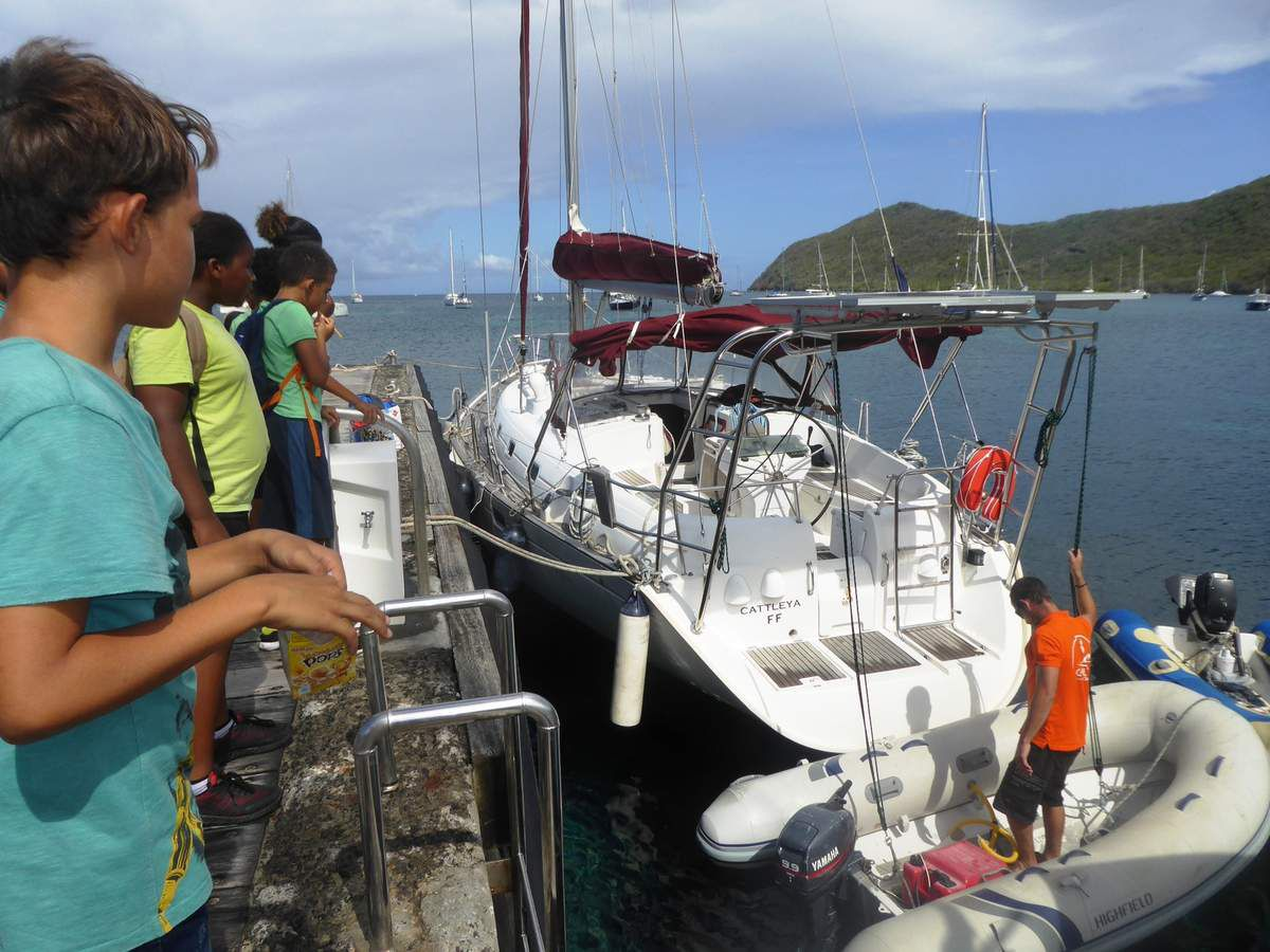 A quoi sert le ponton de Grande Anse?