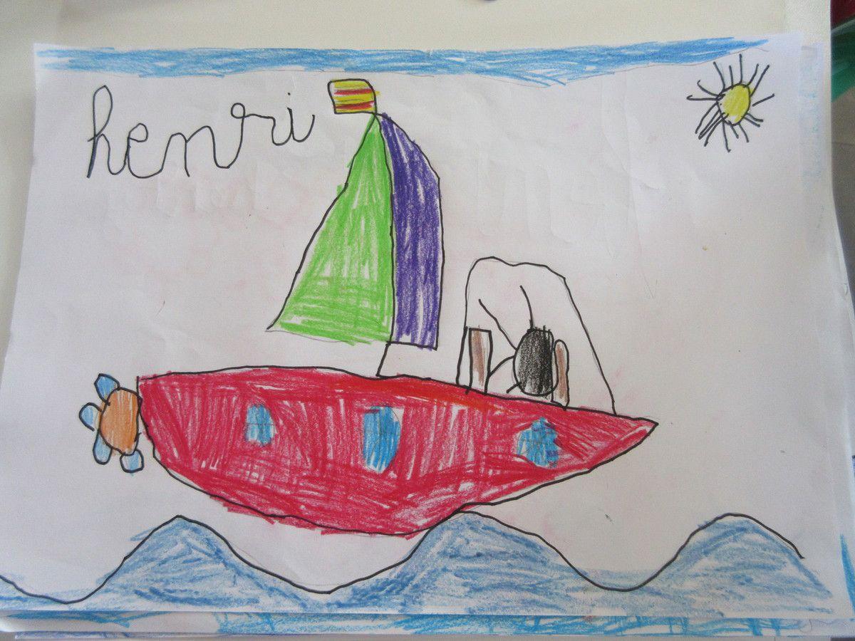 Interview de Manu par les petits de  Port Vendres