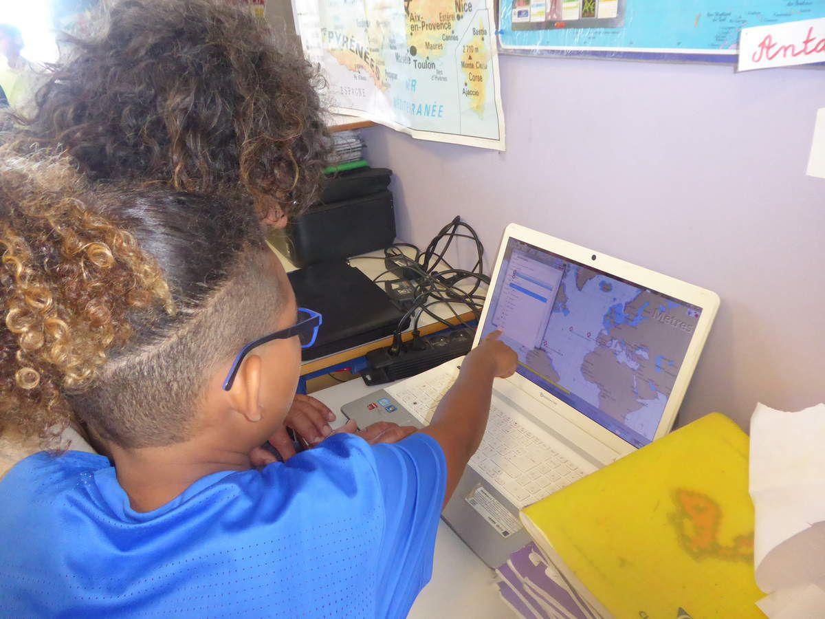 Cartographie Sailcloud, pour suivre les bateaux de la longue route.