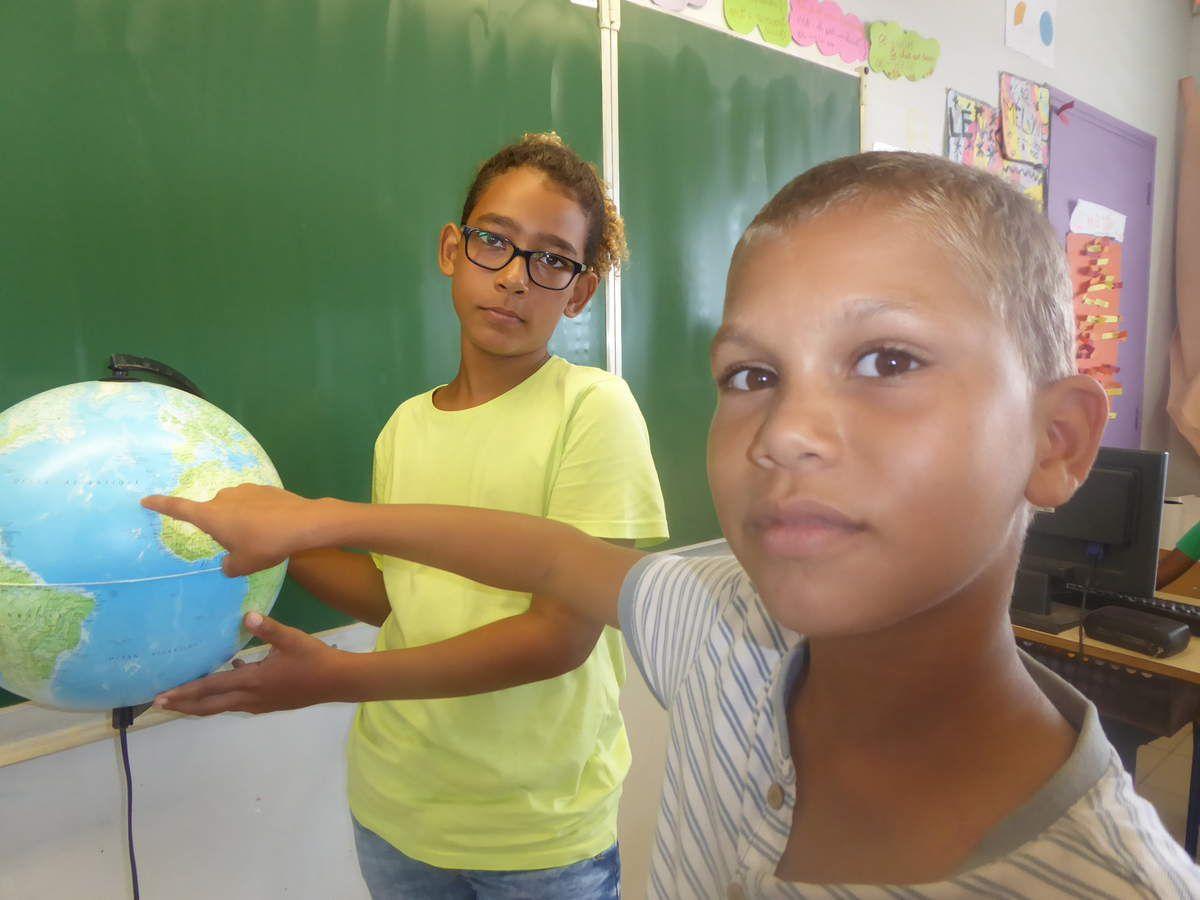 Les îles  Canaries (articles des enfants de Martinique, 2018)