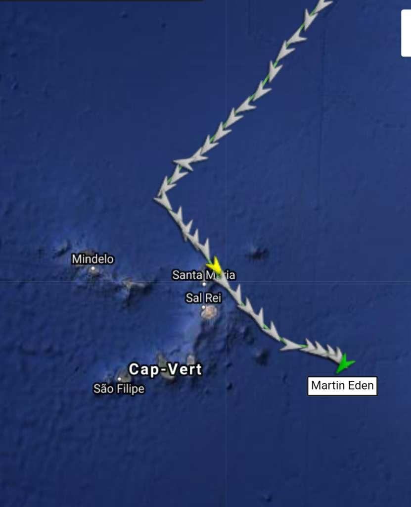 Remue ménage  au Cap Vert