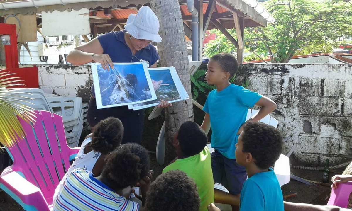 A la rencontre des tortues avec les chercheurs du CNRS....Notre AME
