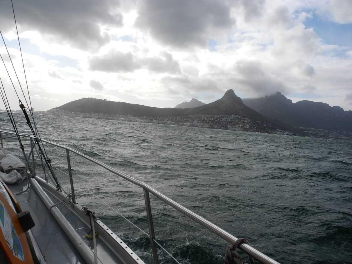 Un mois d'escale à Cape Town ...