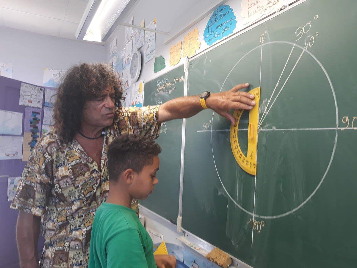 Manu, prof de maths!