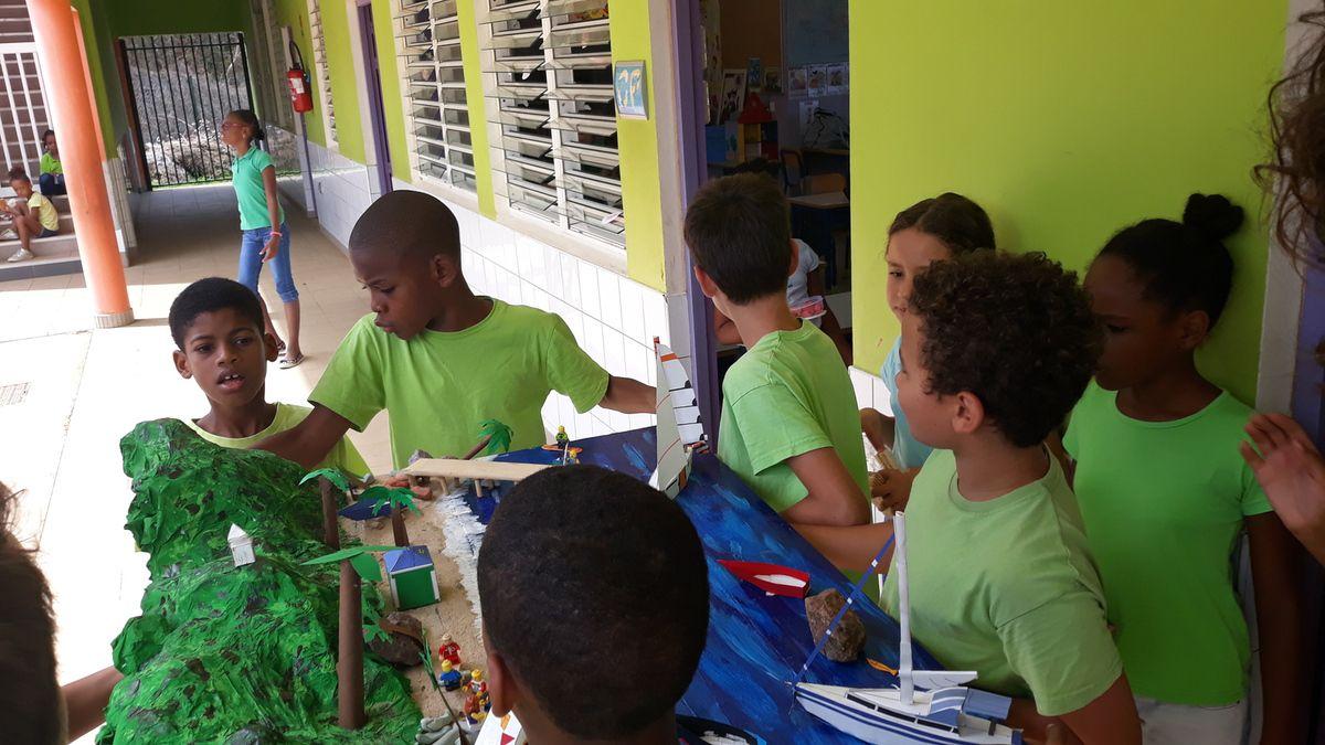 Notre magnifique maquette de Grande Anse, notre AME.!!!