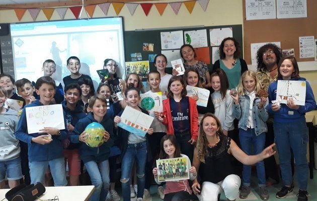 Les CM2 du Bono, année scolaire 2018 2019